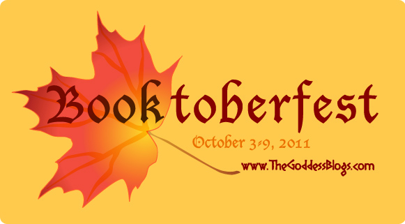 Booktoberfest logo for The Goddess Blogs