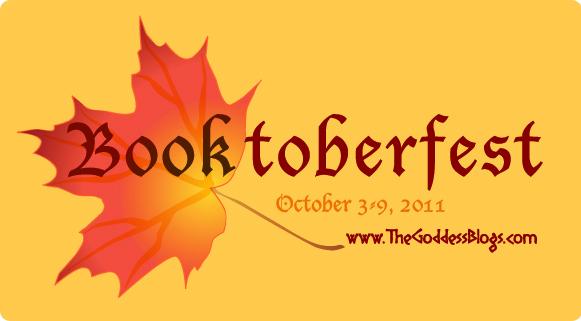 Booktoberfest logo for The Goddess Blogs