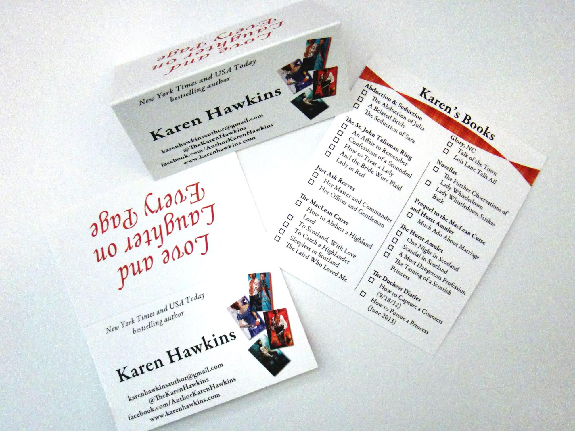 Karen Hawkins card