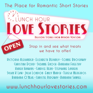 Lunch Hour Love Stories launch graphic