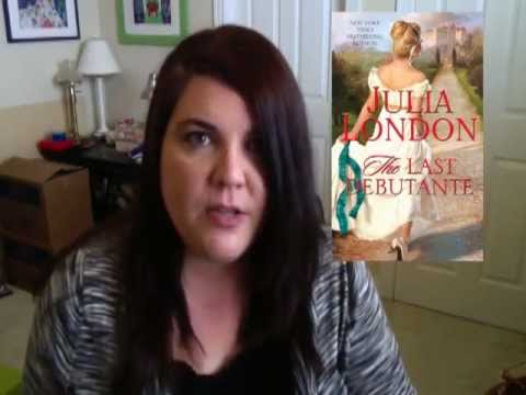 promo video for The Last Debutante by Julia London