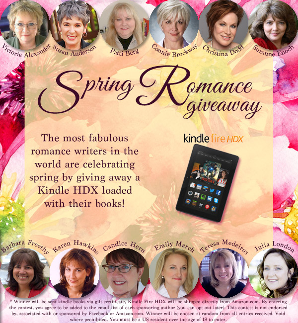 Spring romance giveaway
