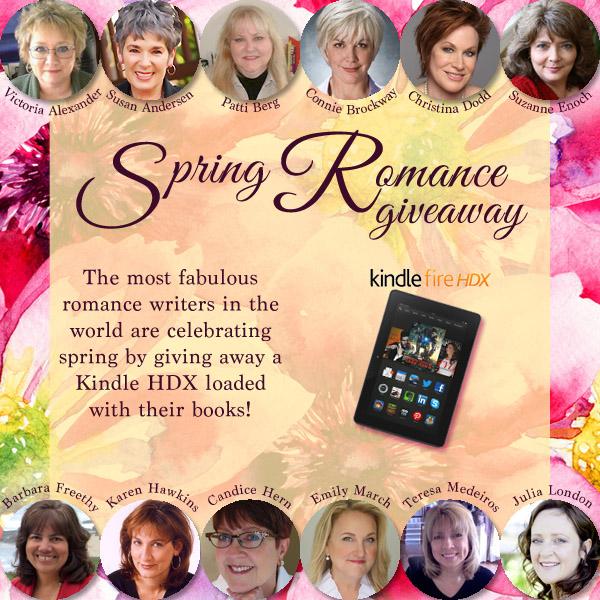 Spring promo contest graphic