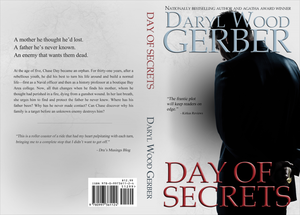 print cover Day of Secrets by Daryl Wood Gerber